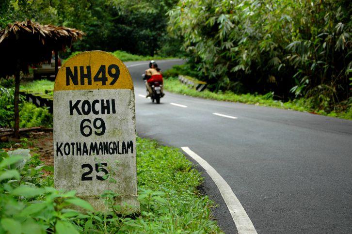 Road in Kerala.