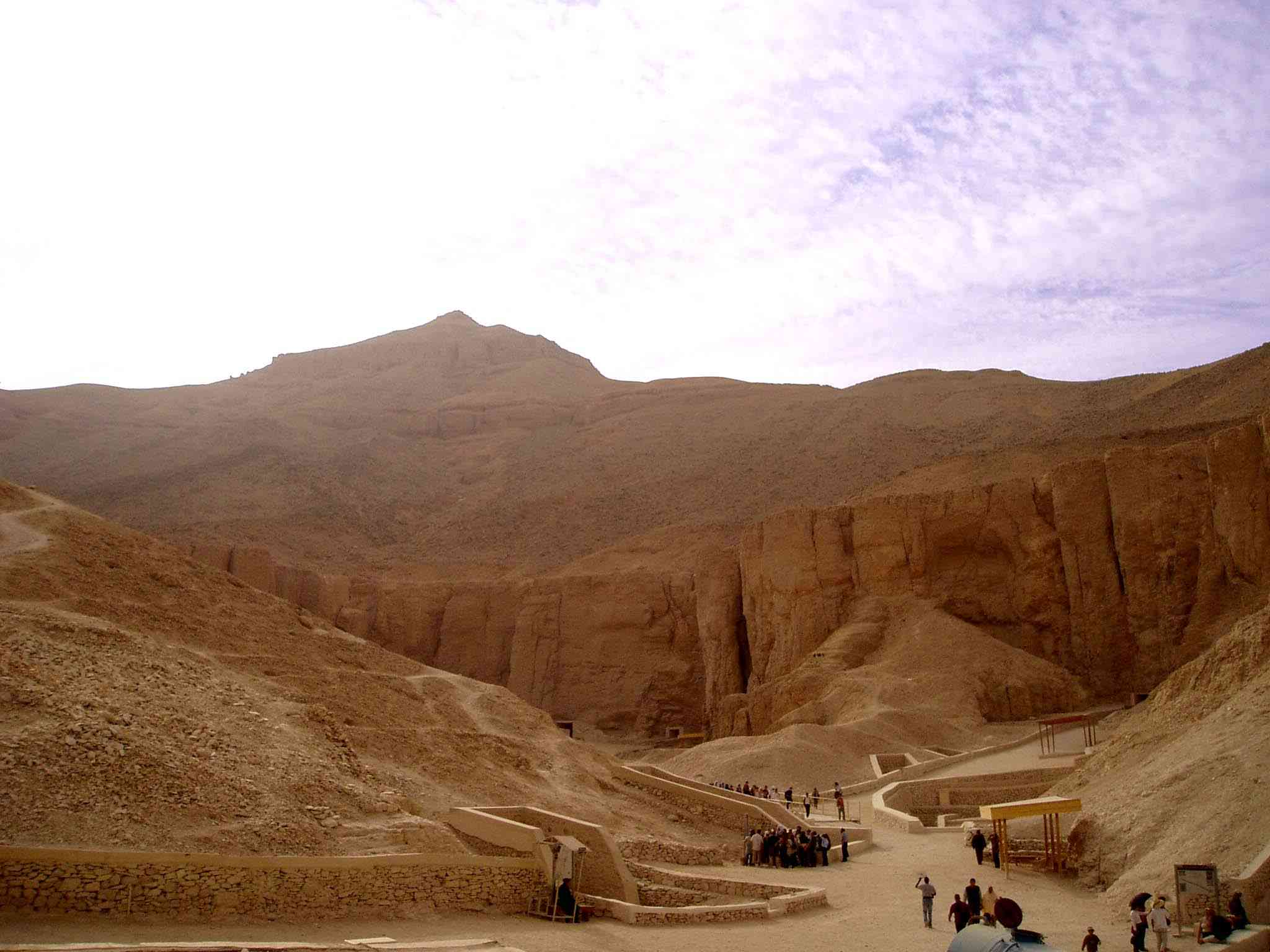 Valley of the Kings outside Luxor, Egypt
