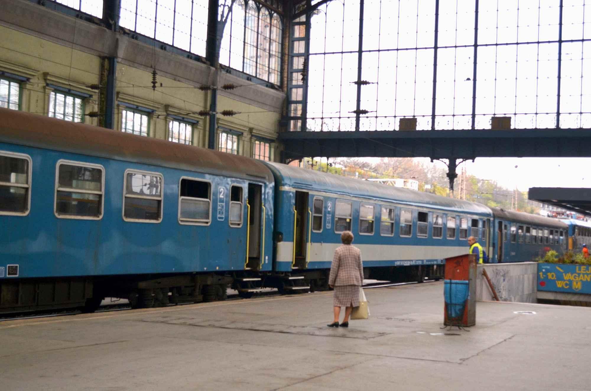 Budapest Train Station
