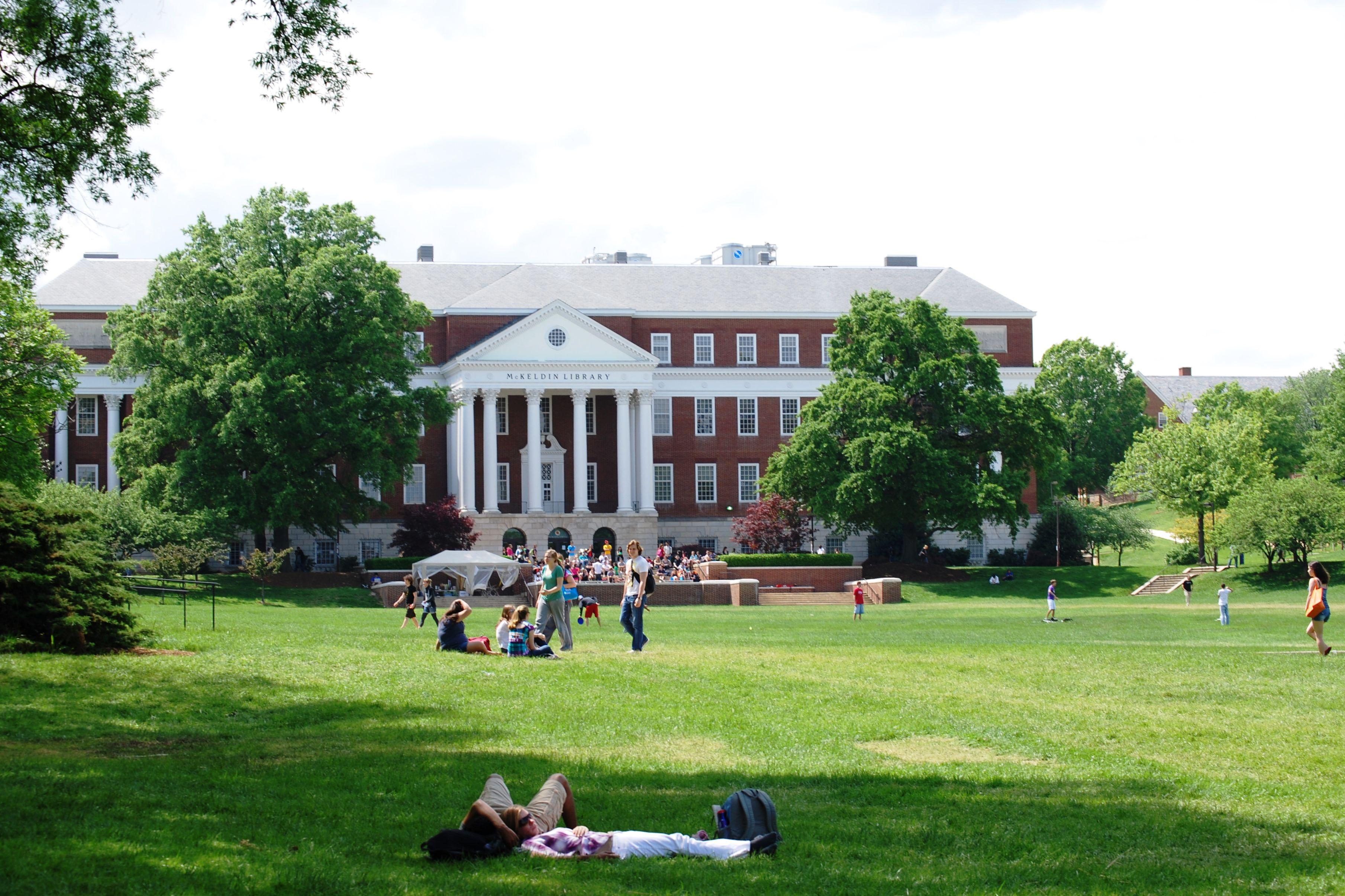 University of Maryland McKeldin Library