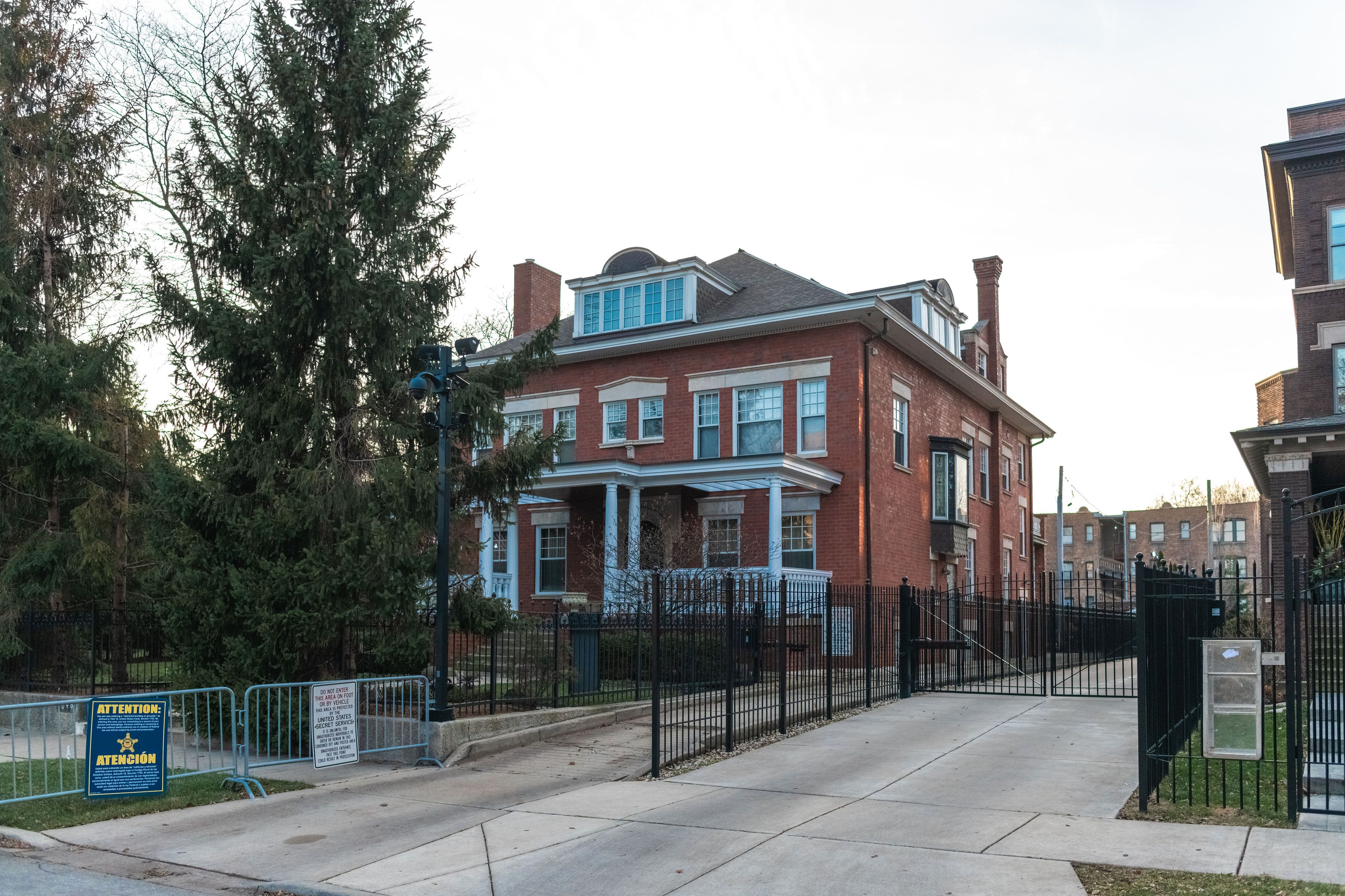 Obama's Home in Chicago
