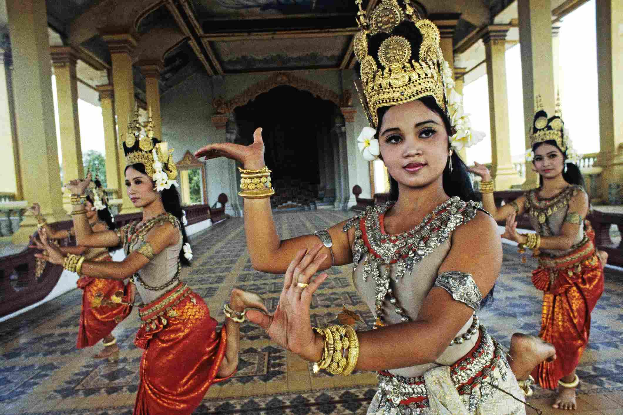 Apsara dancers at Royal Palace in Cambodia