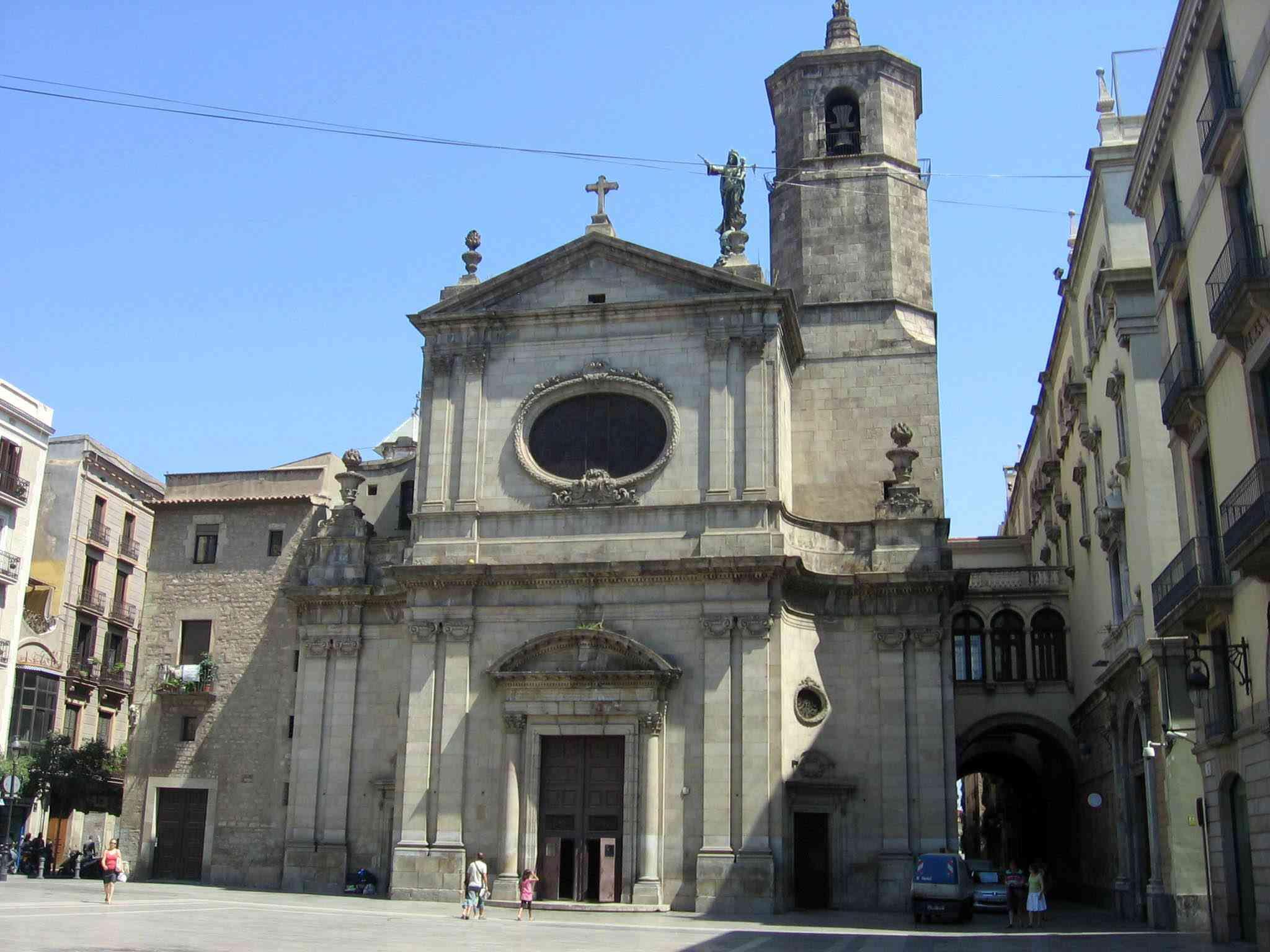 Basílica de la Merced facade