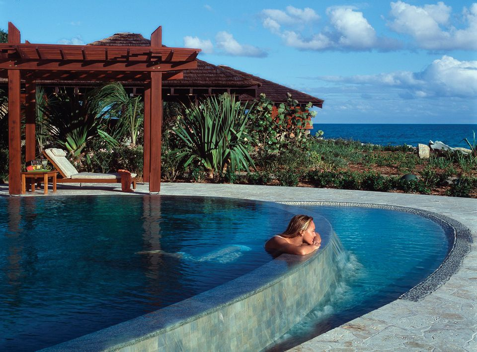 Peter Island spa pool