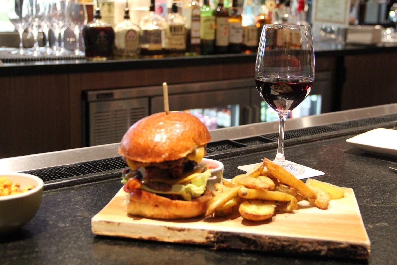 Burger and Fries at Scottsdale Resort