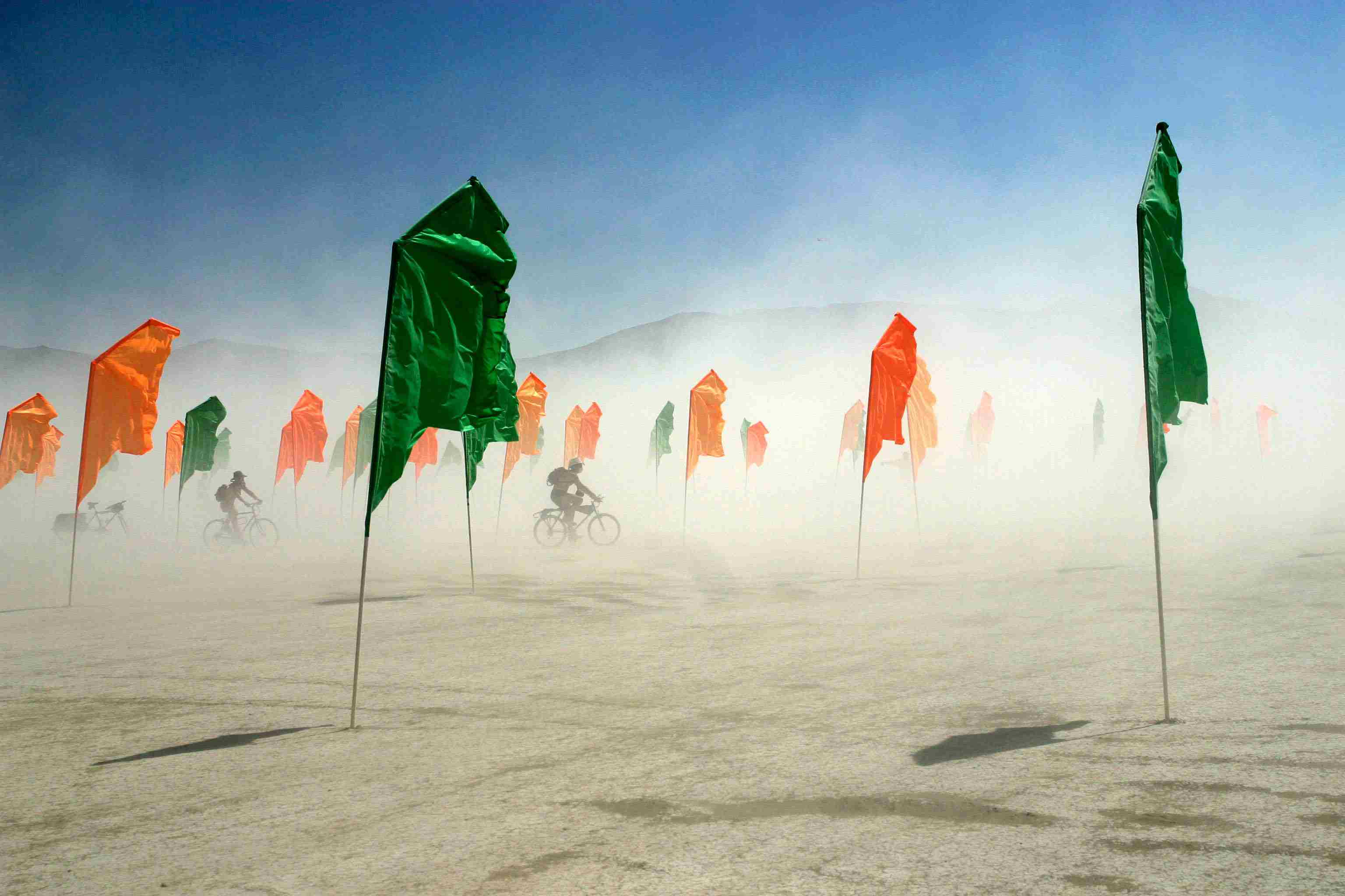 Burning Man dust