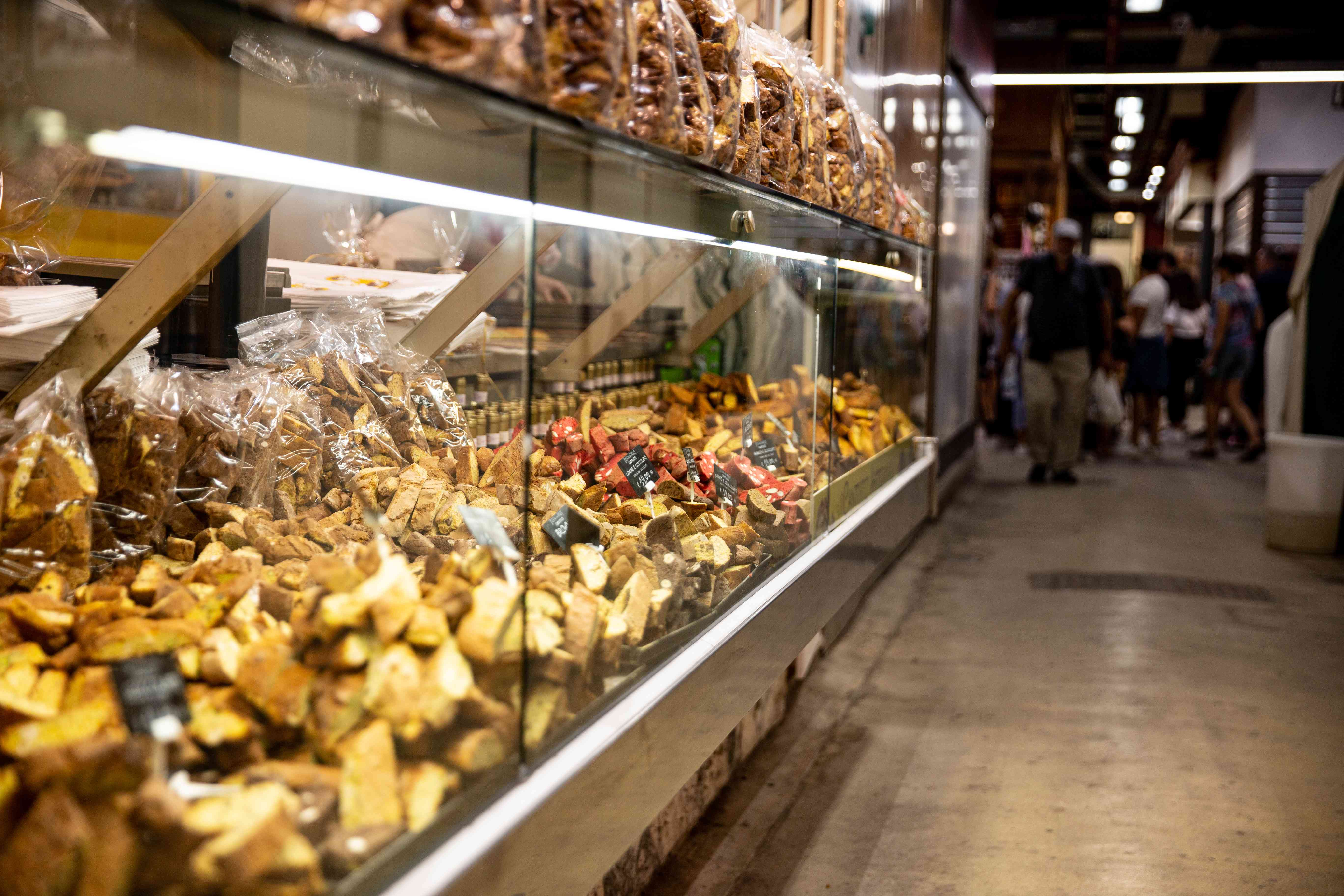 The Mercato Centrale in Florence, Italy