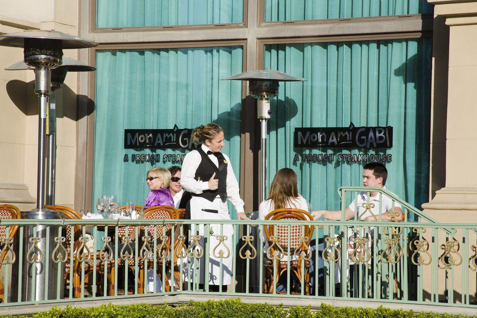 Mon Ami Gabi Restaurant at Paris Casino