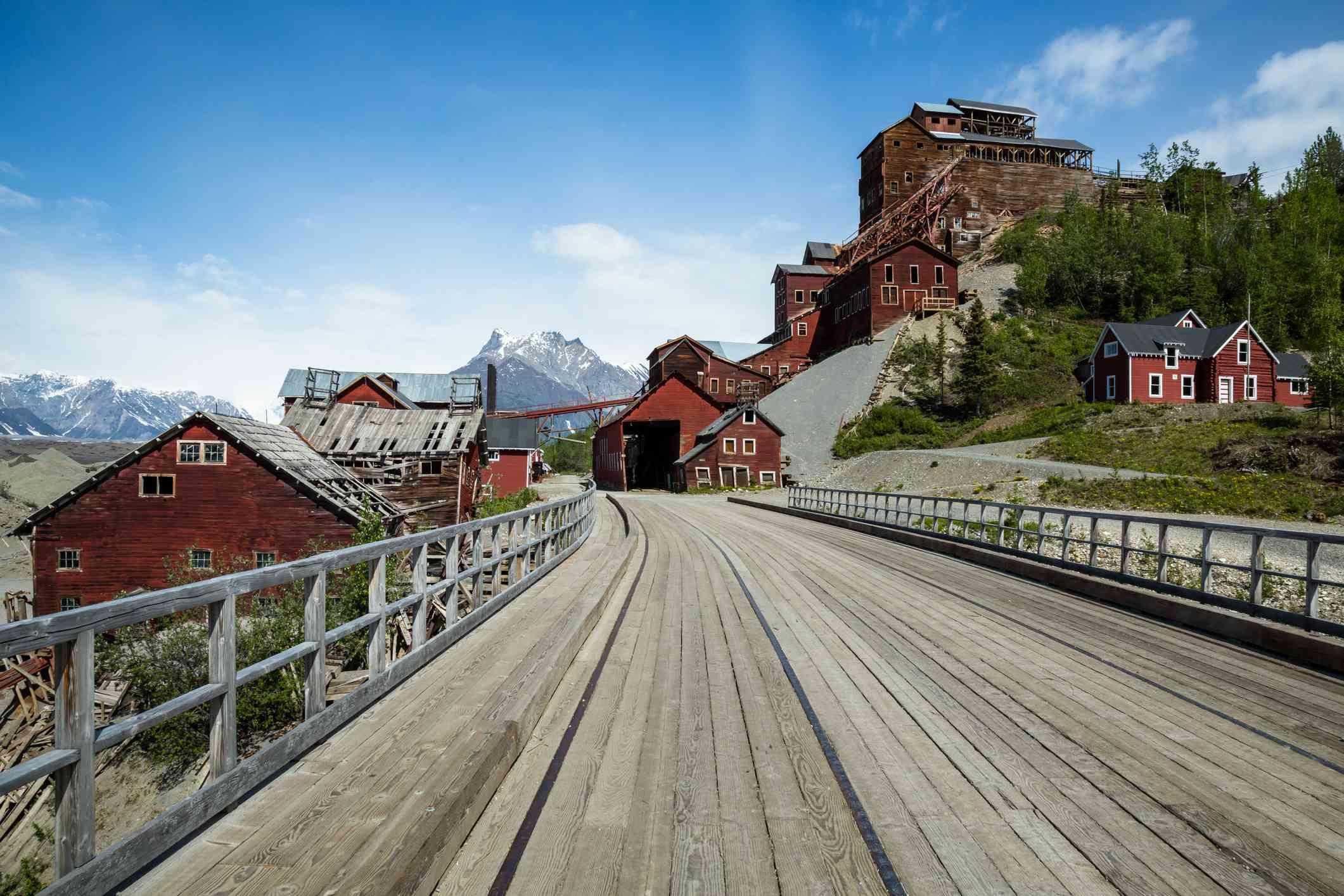 Ghost town of Kennicott, Alaska