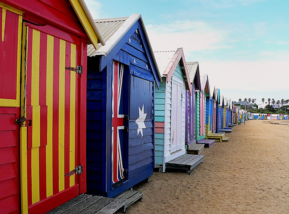 Bathing Boxes Brighton