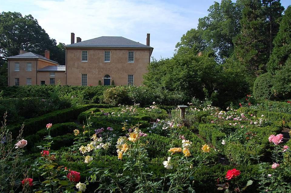 Tudor Place Historic House and Garden in Washington, DC