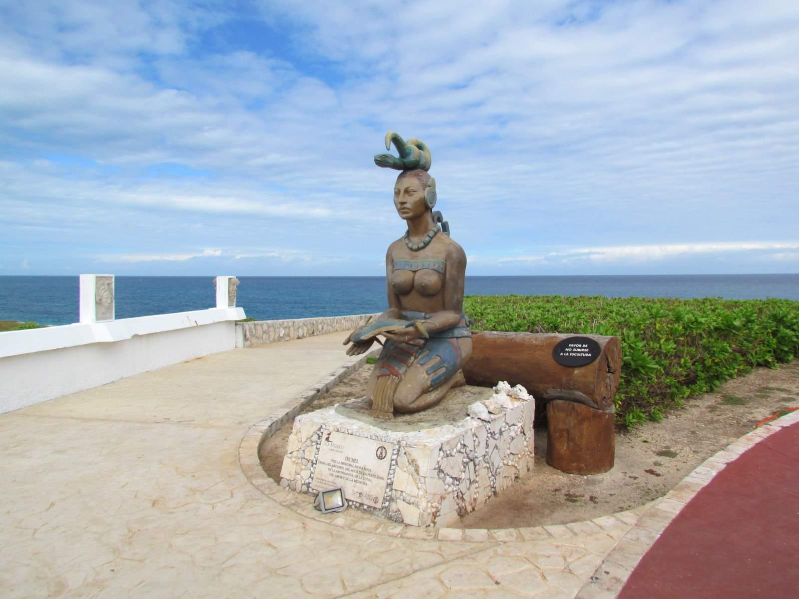 The Maya goddess Ixchel