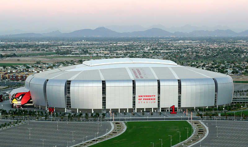 fad7b50e Complete Guide to the University of Phoenix Stadium in Glendale, AZ