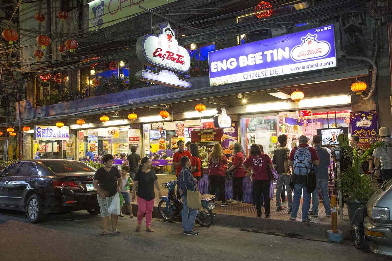Eng Bee Tin storefront, Binondo
