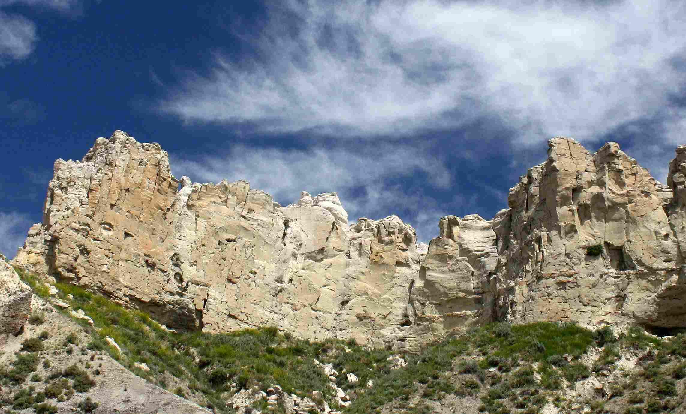 Cliffs in Upper Missouri River Breaks National Monument