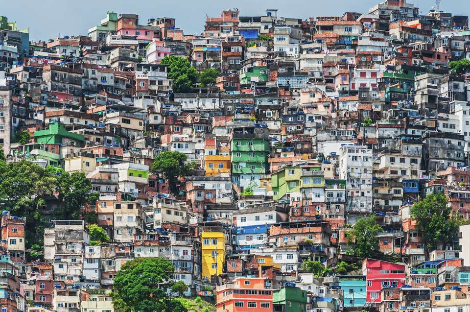 Rio de Janeiro's Rocinha is The largest shanty town in South America