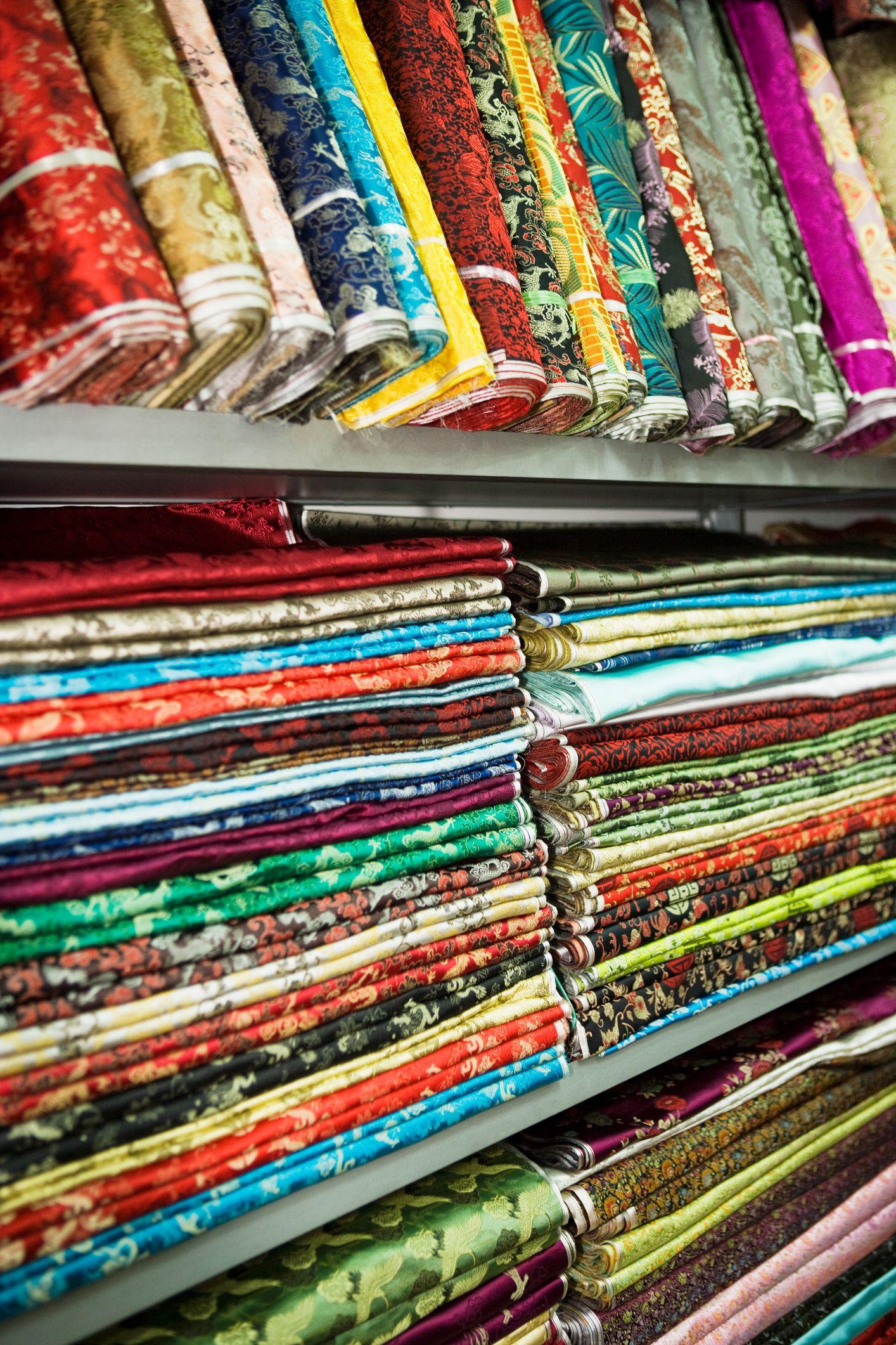 Textiles in shanghai market