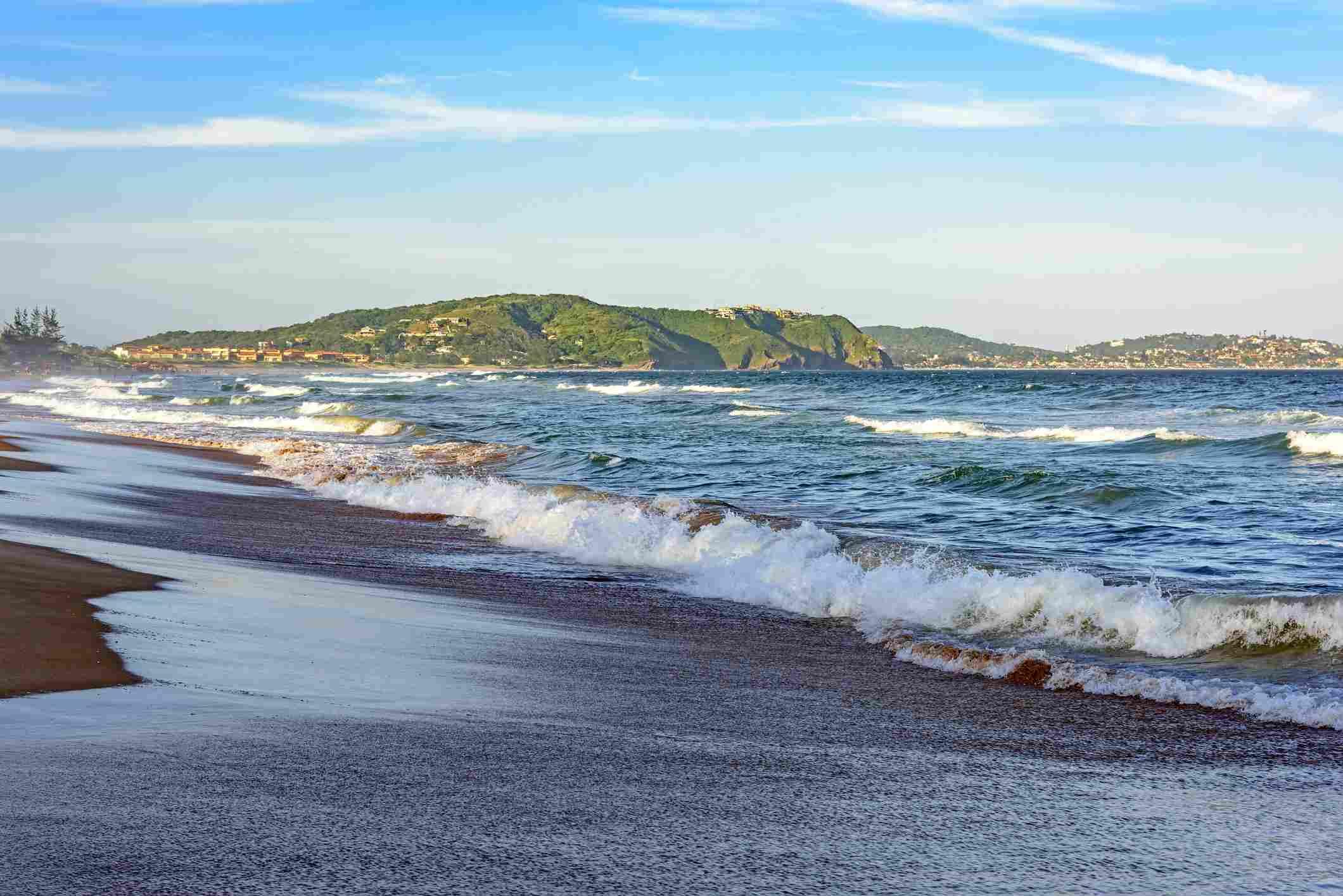 Tucuns beach in Buzios