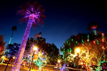Glendale Glitters in Historic Downtown Glendale in Glendale, Arizona.