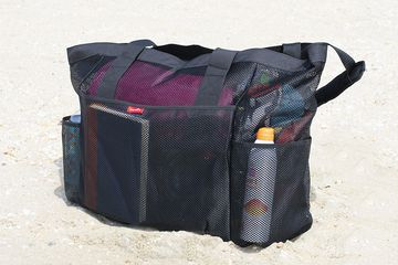 OdyseaCo Oahu Mesh Beach Bag Tote