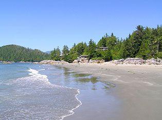 best beaches near vancouver: tonquin beach park, tofino