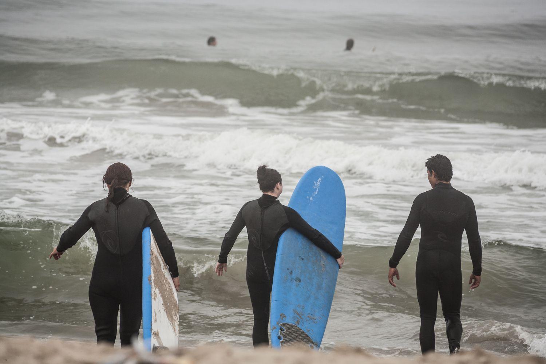 Clases de surf en Santa Mónica