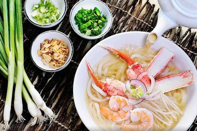 An Asian soup