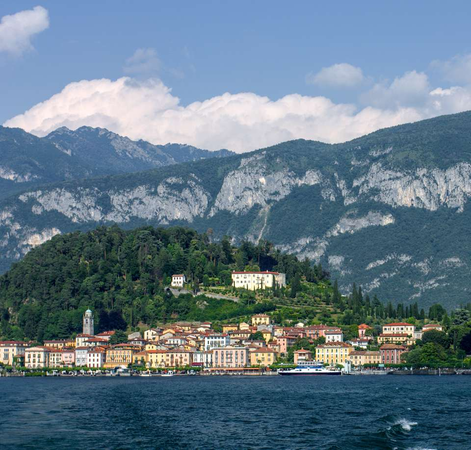 View of Bellagio on Lake COmo
