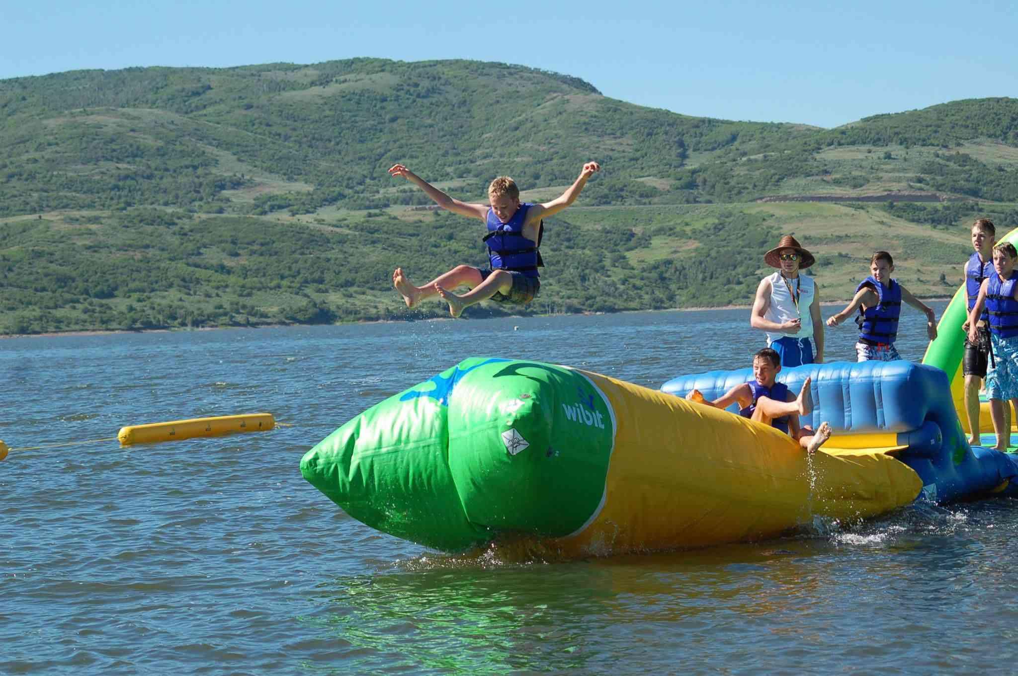 AquaXZone water park in Utah
