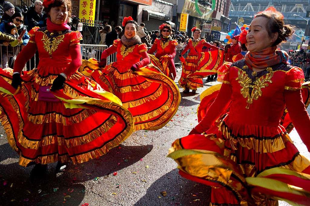 Chinatown's New Year parade