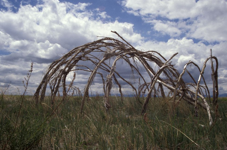 native american sweat lodge structure