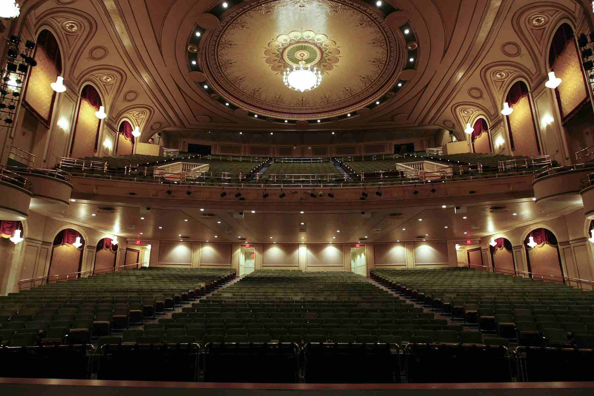 Hanover Theatre in Worcester, MA