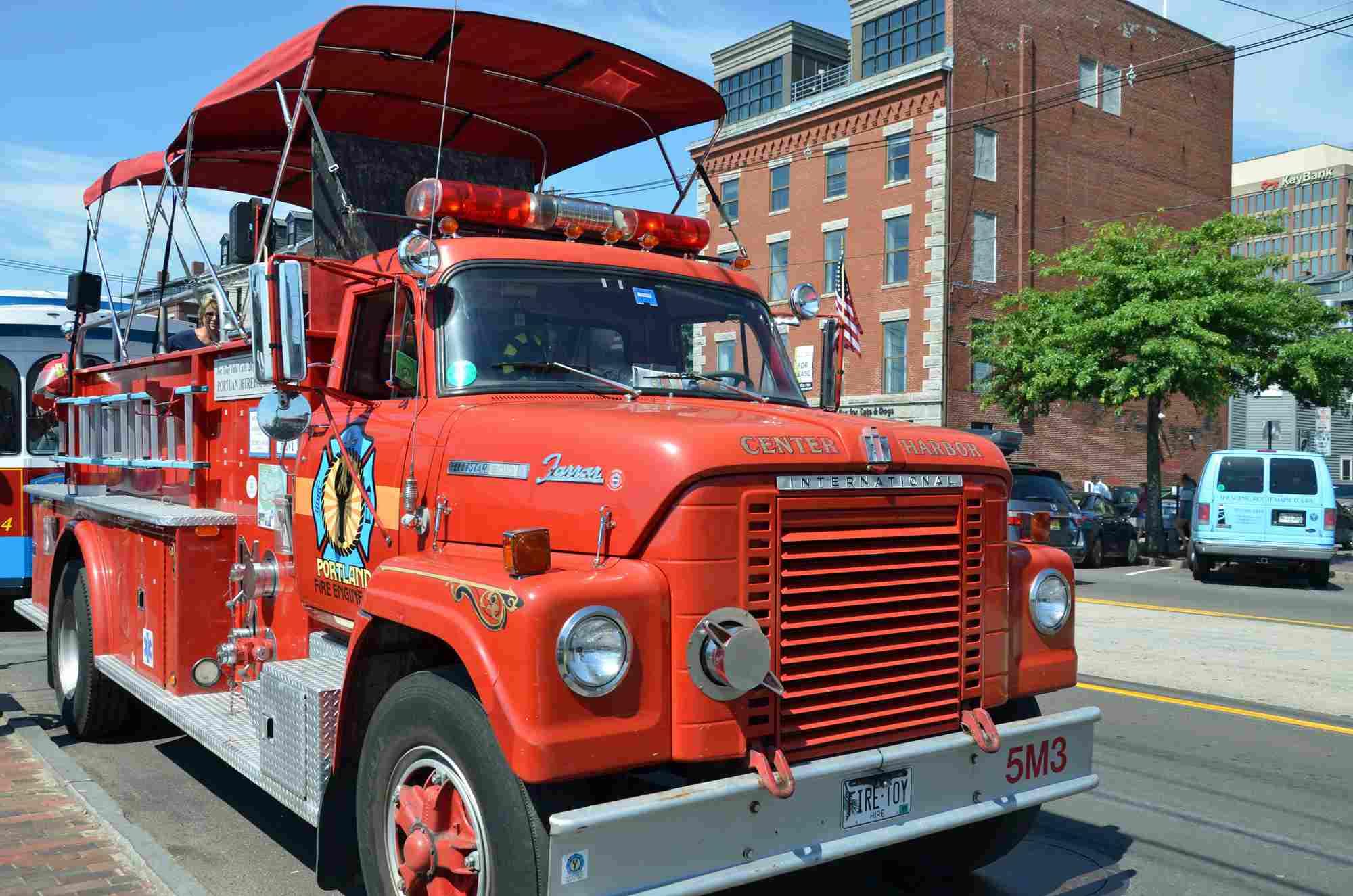 Recorridos en camiones de bomberos de Portland