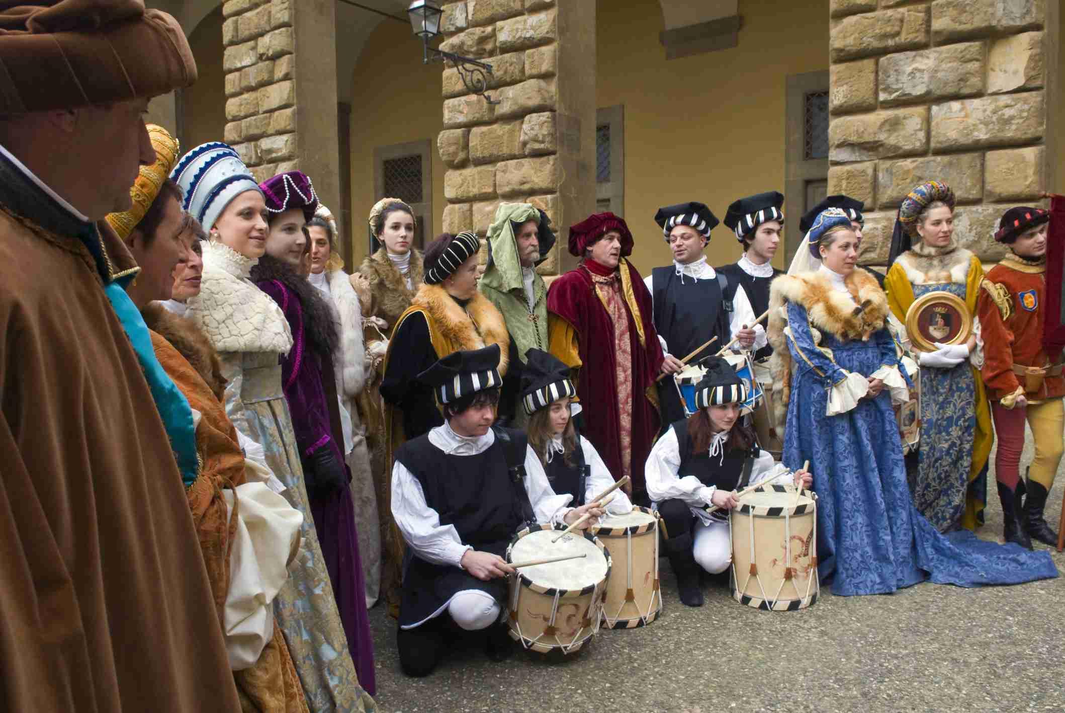 Desfile medieval en Florencia