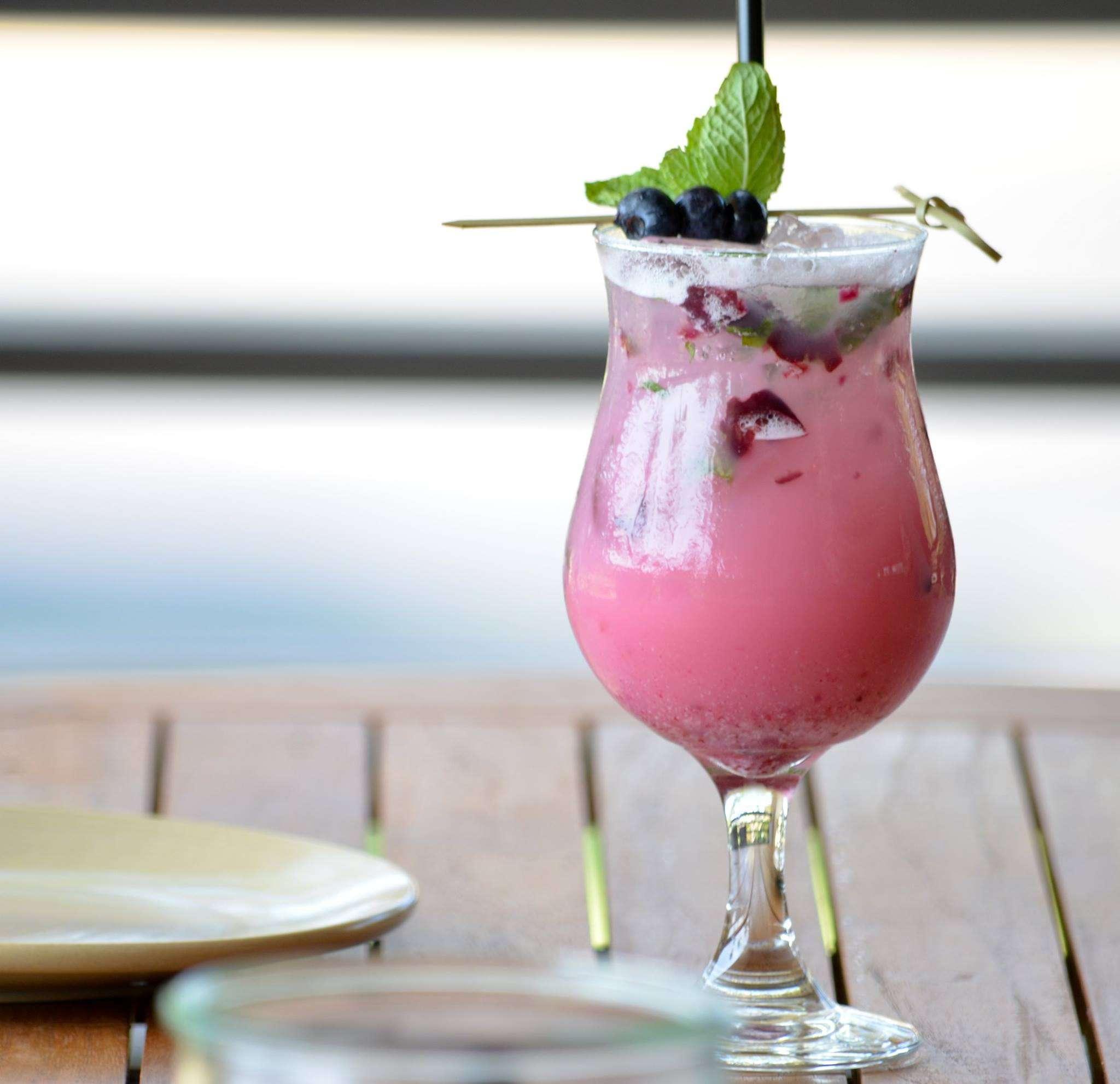 Fruit cocktail from Monkeypod