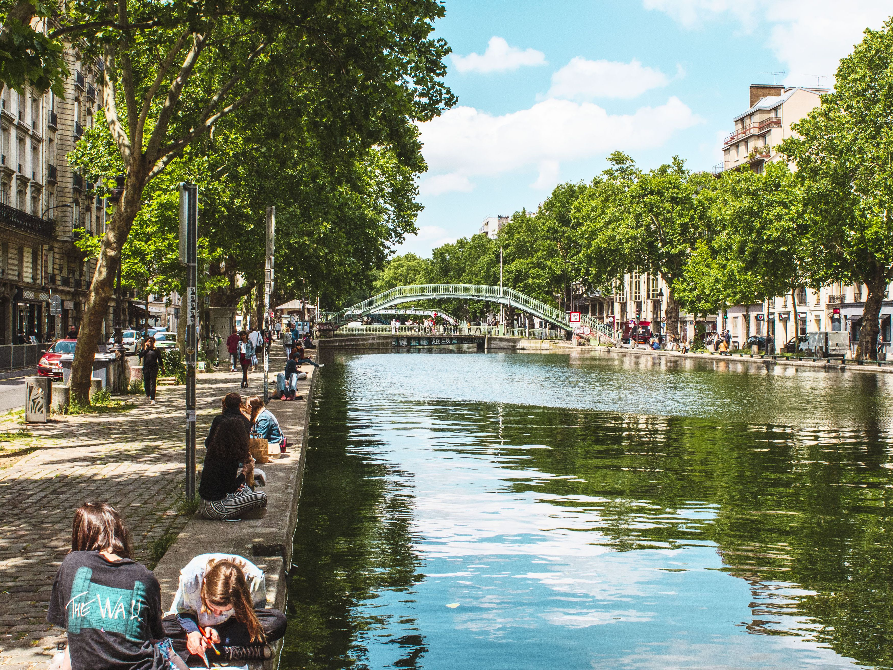 Image result for canal saint martin