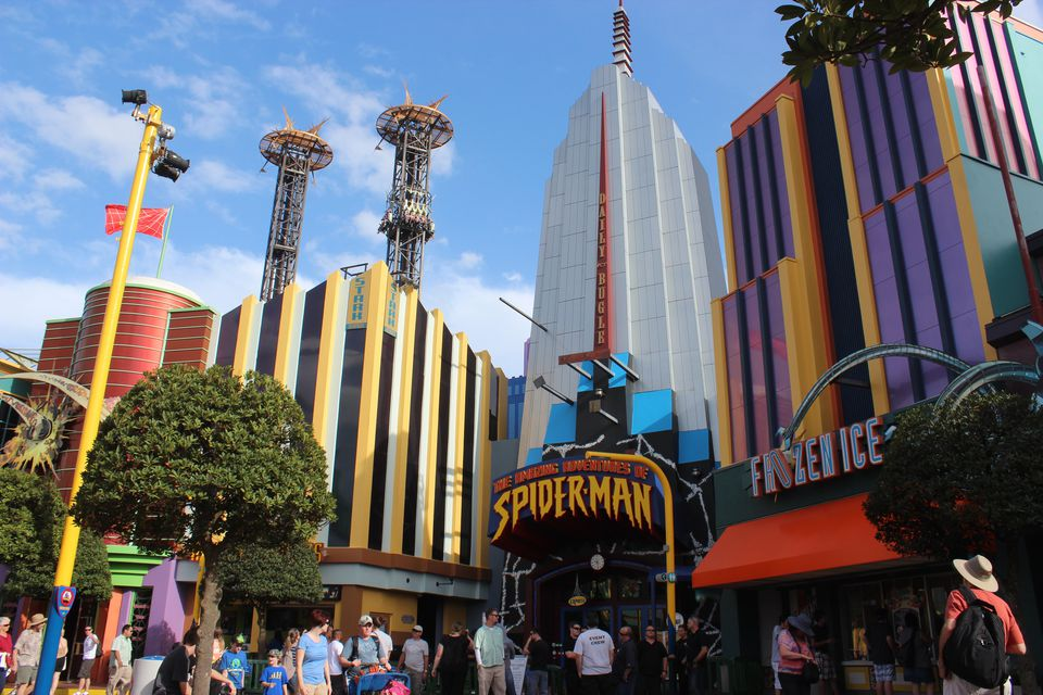 Spider-Man Universal Orlando Ride