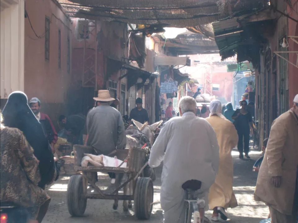 Morning in the Medina, Marrakech