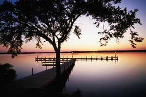 Sunset on Lake Murray