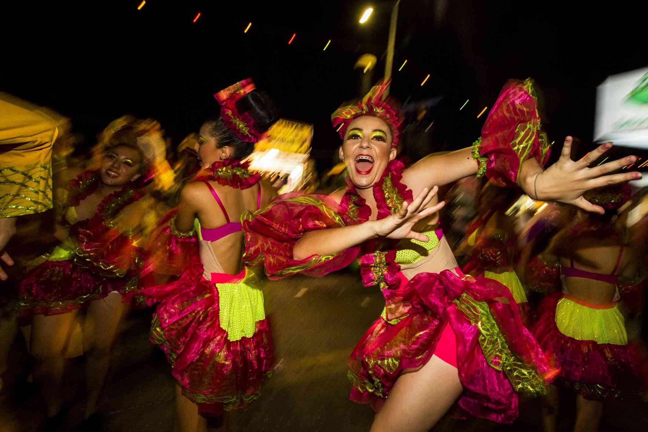 Carnival in Mazatlán Sinaloa State Mexico