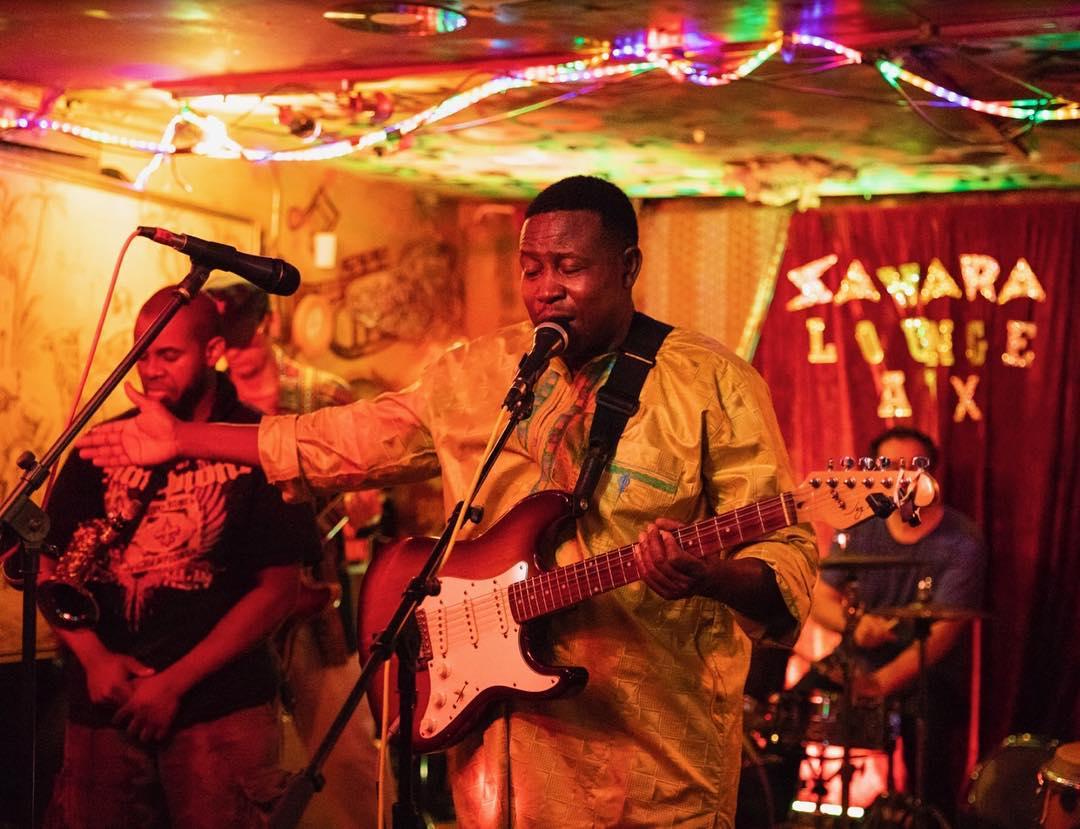 Live music at Sahara Lounge