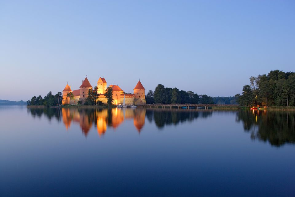 Trakai Castle in Lithuania.