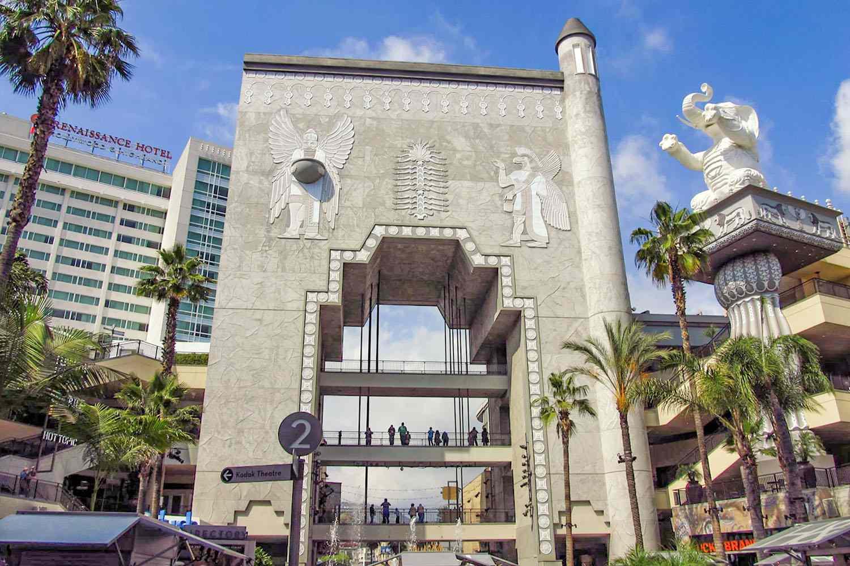Babylon Gate at Hollywood at Highland