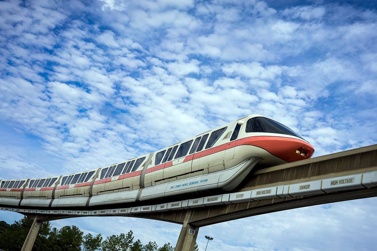 The Walt Disney World Monorail, Epcot, Walt Disney World, Florida