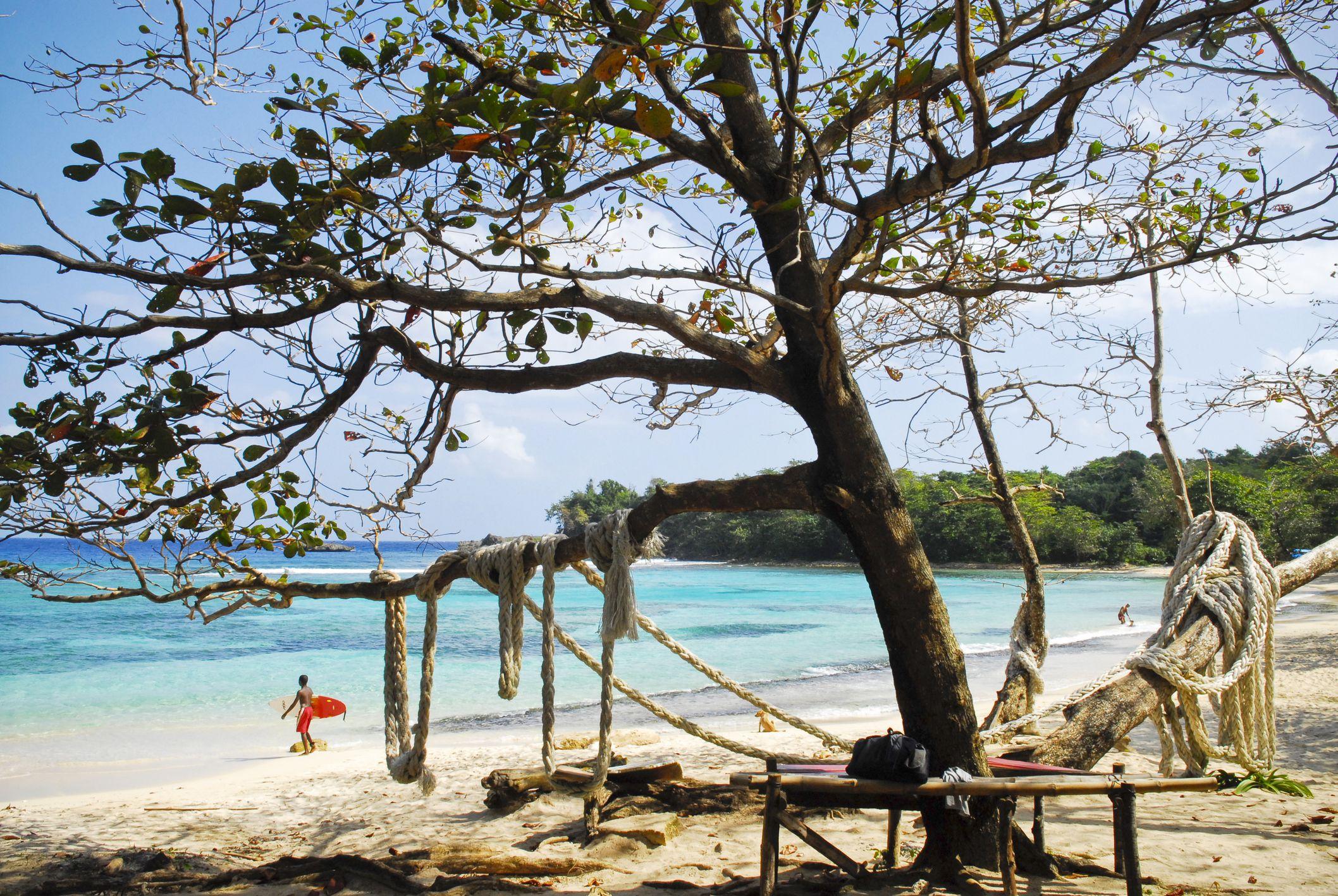 Winnifred Beach near Boston Bay, Jamaica