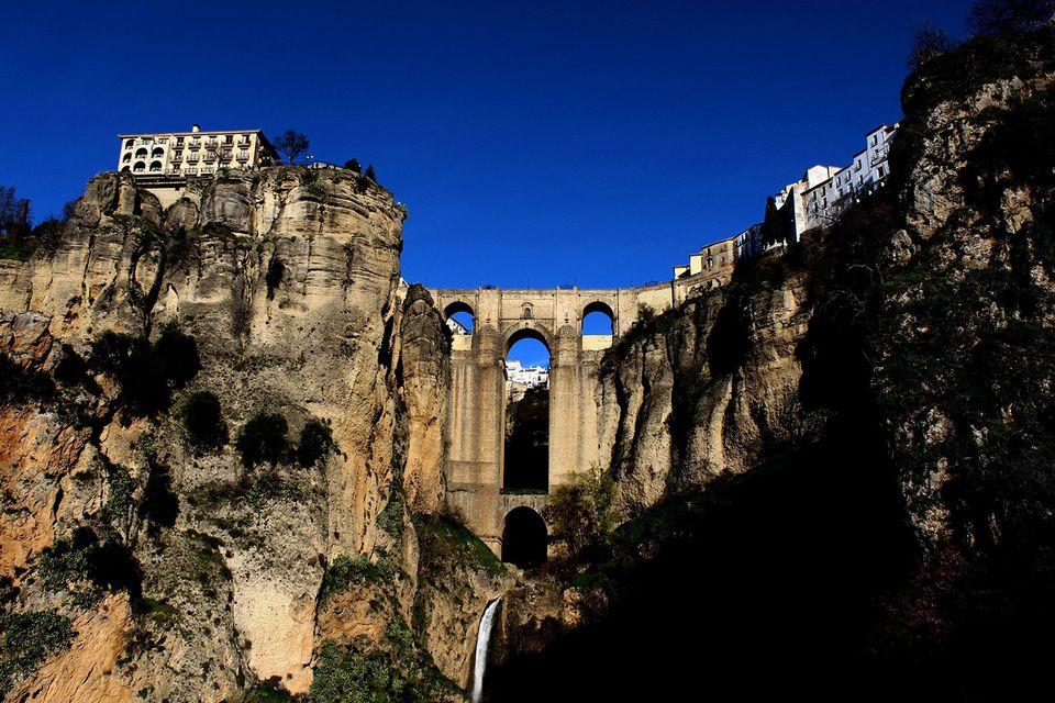 A mountain view of Ronda