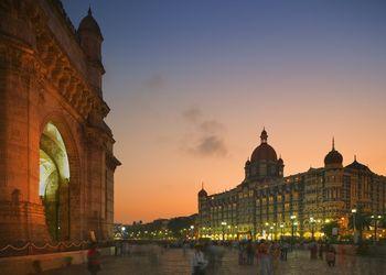 Gateway of India and the Taj Mahal Palace Hotel, Mumbai.