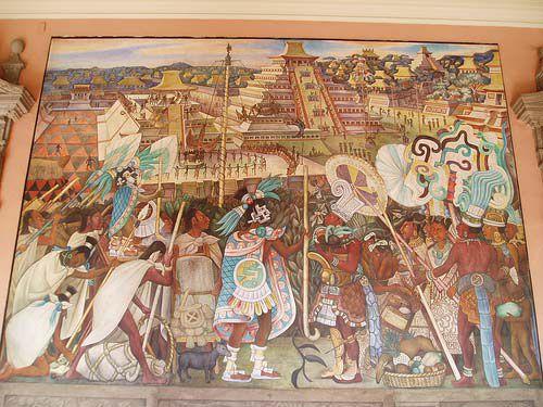 Murales Palacio Nacional