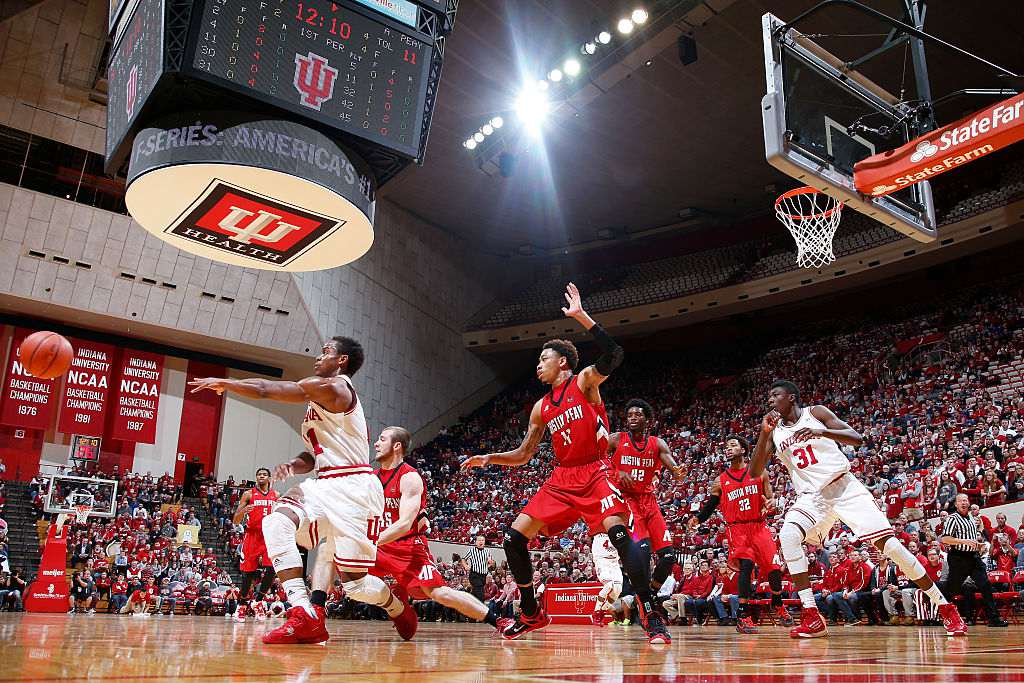 Indiana Hoosiers basketball at Assembly Hall