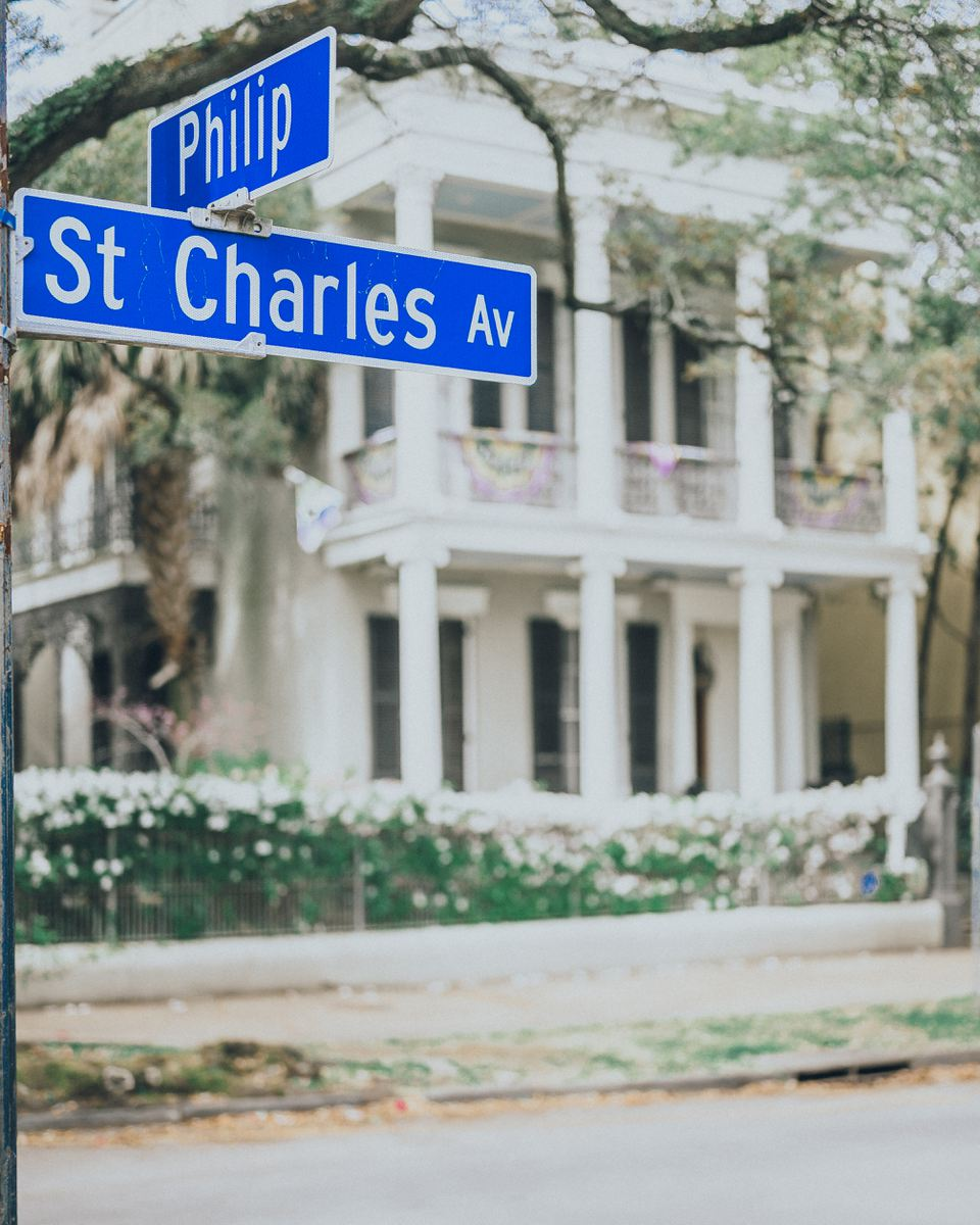 Street Signs in New Orleans